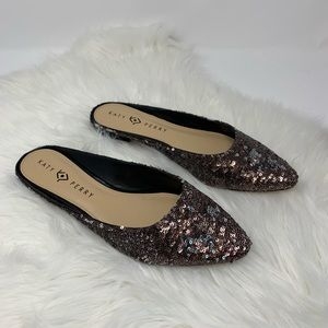 Katy Perry Sequined Slip ons